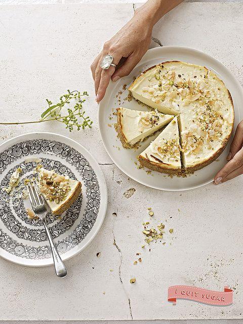 Crunchy-Nut Cheesecake by CrownPublishing, via Flickr