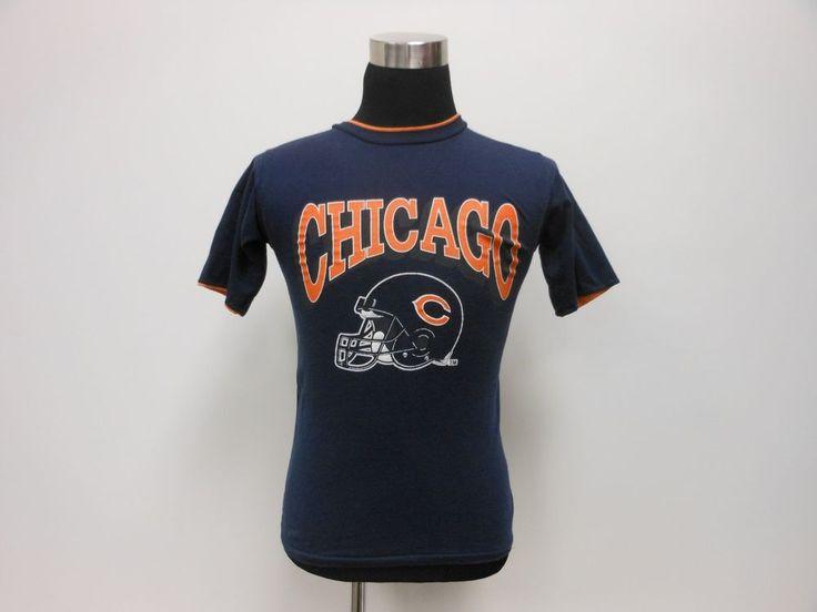 Vtg 80s 1985 Chicago Bears Super Bowl XX 20 t Shirt sz S Small DITKA NFL Payton #ChicagoBears #tcpkickz