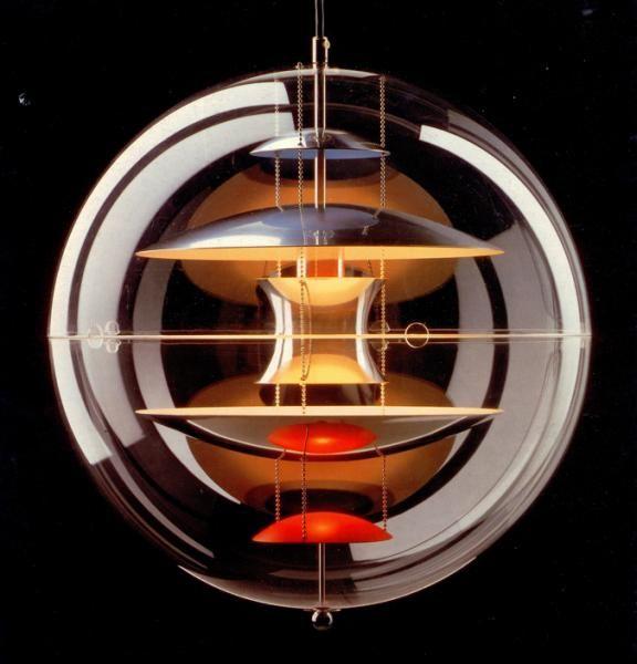 Globe Lamp, Verner Panton, Verpan http://decdesignecasa.blogspot.it