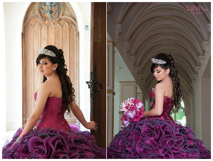 Quinceanera dress and photo ideas \\ Photo Credit: Del Mar Photography Blog