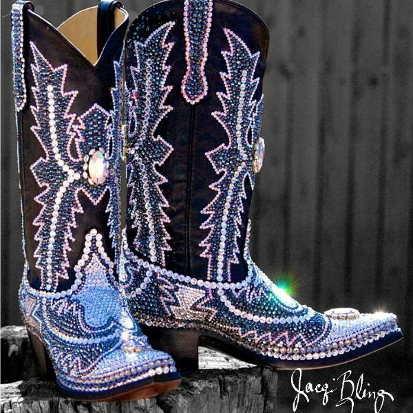 Blown Away by Blinged Out Boots - Cowgirl Magazine