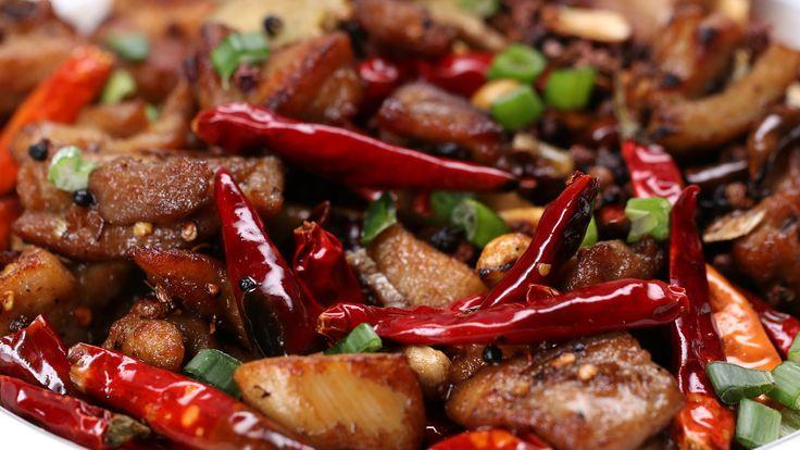 Marinade Ingredients: 3 tsp of corn starch 1 tsp of salt 1 Tbsp. of rice wine 1/2 tsp of white pepper 1 Tbsp. of soy sauce 1 shredded scallion 2 slices of gi...