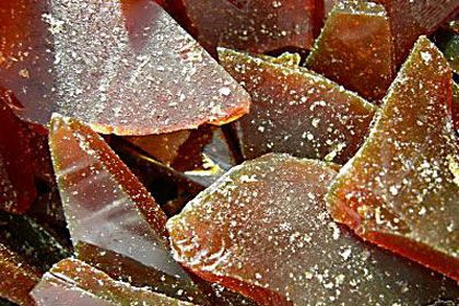 Bonfire Treacle Toffee recipe - you could bag this up in cellophane or old school paper bags and sell at your PTA/PTO Bonfire night Fireworks party - yum yum.
