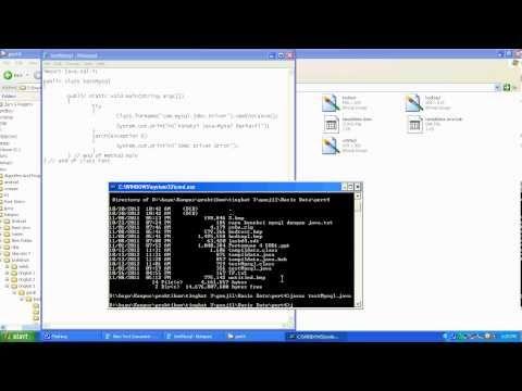 hot to set java connection to database mysql