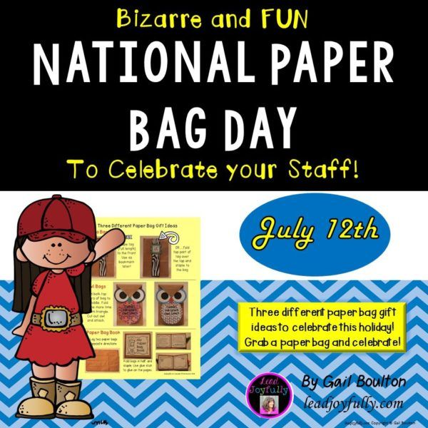 National Paper Bag Day (July 12th)