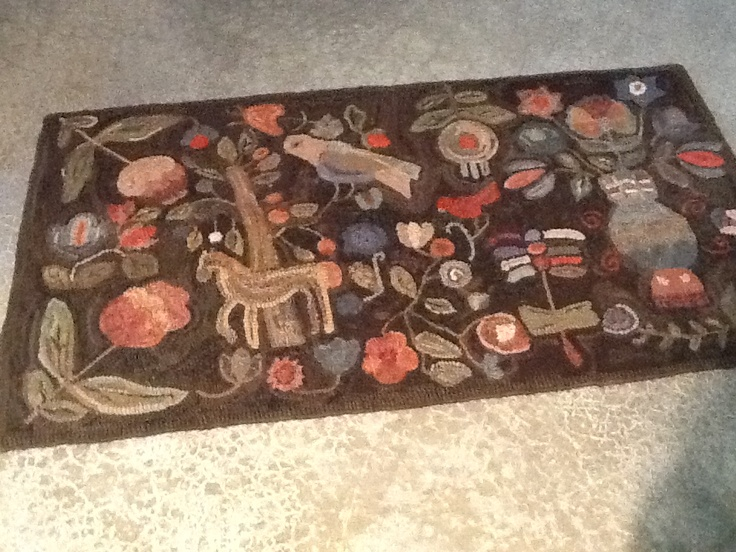 245 best rugs images on pinterest kilim rugs rugs and for Mackenzie childs fish rug
