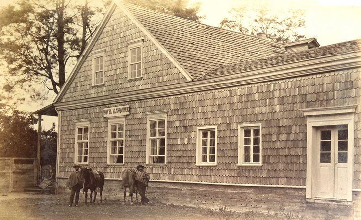 Photo of Hotel Llanquihue, 1893
