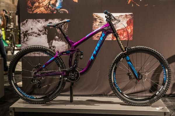 The Trek Session DH bikes get colorful for 2015. So.....I think I need a mountain bike