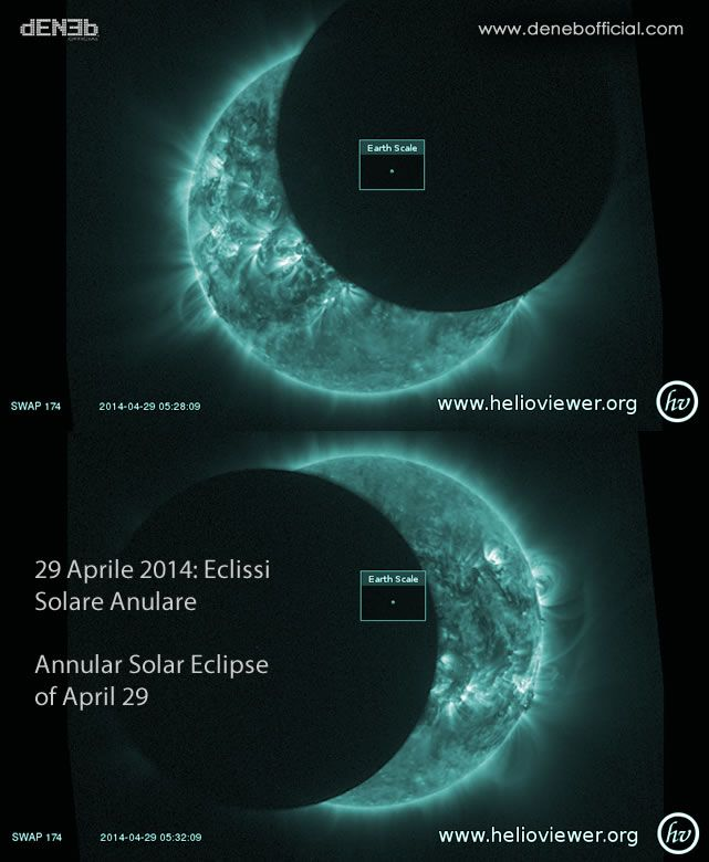 29 Aprile 2014: Eclissi Solare Anulare – Annular Solar Eclipse of April 29
