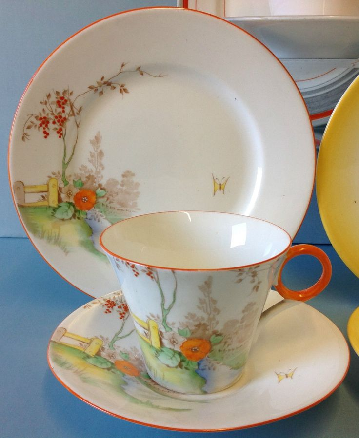 Shelley Regent Shape Three Tea Cup Trios Collection.   eBay