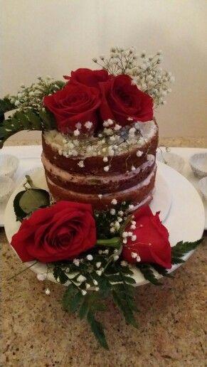 My naked cake