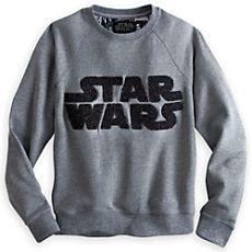 Star Wars Logo Pullover Sweatshirt for Women