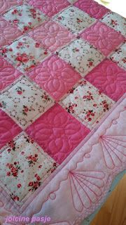Jolcine pasje: Różowa kołderka