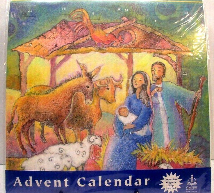 advent calendar by concordia publishing nativity christmas. Black Bedroom Furniture Sets. Home Design Ideas