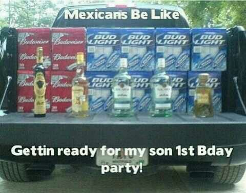 LOL... so true. The food may run out, but there will always be beer and tequila.
