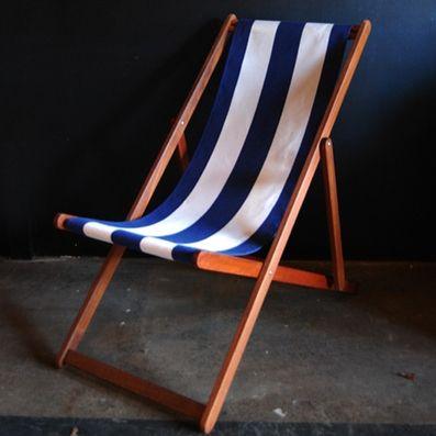 Deckchairs | Retro theme | Deck chair  ici et la  $140