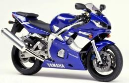 Decal kit Yamaha YZF-R6 1999 - blue version - MOTO-
