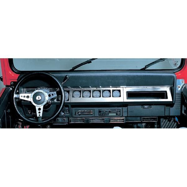 Jeep Wrangler Discover Dash Overlay Kit Stainless Steel By Rugged Ridge 87 95 Wrangler Yj Fits 1987 95 Jeep Wrangl In 2020 Ford Trucks Jeep Wrangler Yj Jeep Wrangler
