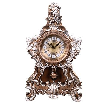 Lai Sheng European desk clock table clock home decoration watch retro living room when the creative artswatches