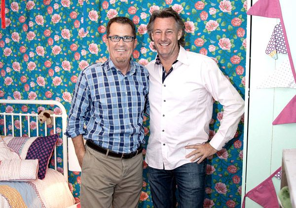 Decluttering tips from expert Peter Walsh and Barry Du Bois of The Living Room.