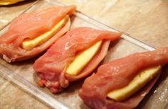 Sajttal töltött csirkemell, ennek a csodás ételnek képtelenség ellenállni!