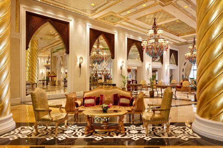 ''Jumeirah Zabeel Saray'' by Arketipo Design #Interior # palace#Lobby