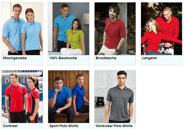Polos, Kurz oder Langarm für Freizeit,Sport, Beruf bis zur 25 Farben von Kindergröße 104 bis XXXXL, alles in unseren Shop  http://promowear.srs-online.com/de/katalog/polo-shirts-c1786.html