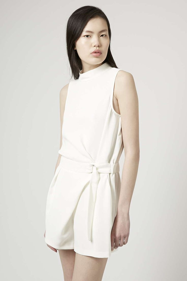 Photo 3 of D-Ring High Neck Playsuit