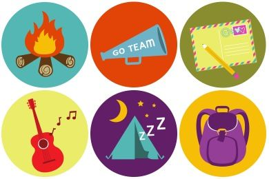 Iconset: Brand Camp Icons by The Girl Tyler (10 icons)