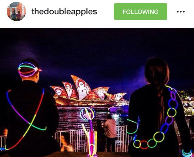 Sydney vivid opera house