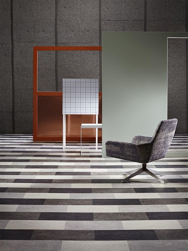 Forbo Marmoleum Modular - Natural Linoleum, Non-Toxic, Durable, VCT Alternative - Green Building Supply