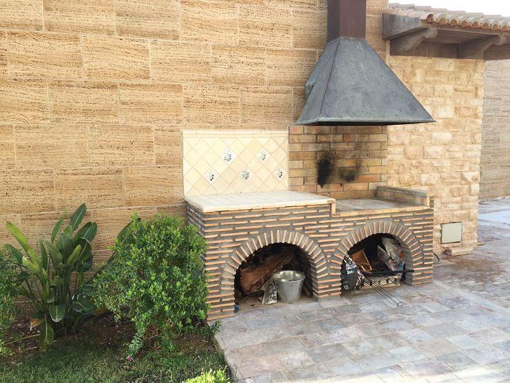 Travertino Arenado wall cladding