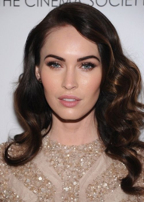 Love the curls!!                                              50 Best Brown Hair Color Ideas for 2014   herinterest.com