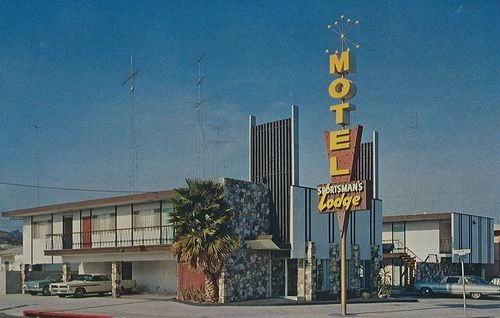 Sportsman's Lodge Motel - San Diego, California - now The Pearl, an upscale motel