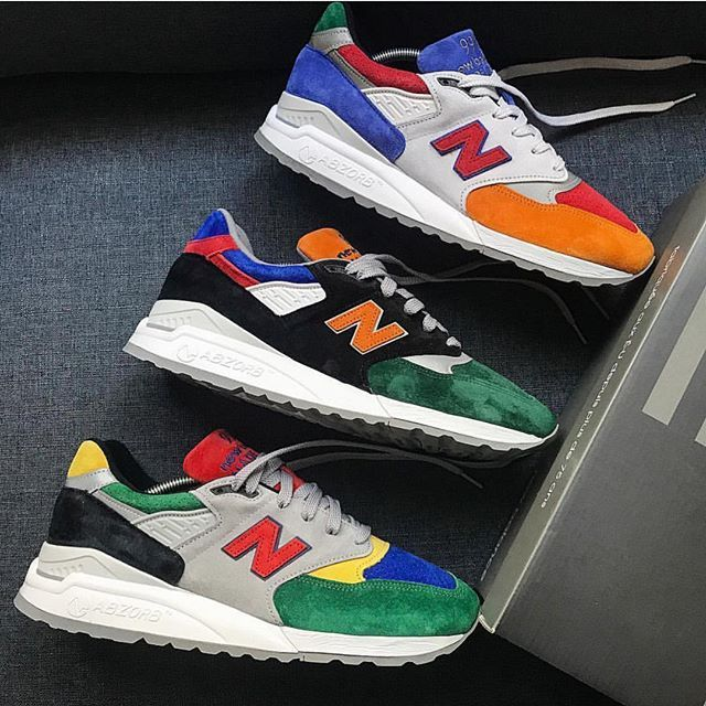 d52432267fe3e These three #MADEINUSA @newbalance 998 collabs definitely look like they  could be a pack. Which is your favourite?! - @bodega Mass Transit -  @dtlrvilla 444 ...