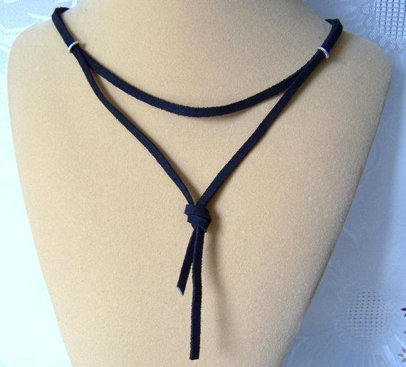 Spartacus Leather Necklace Gladiator
