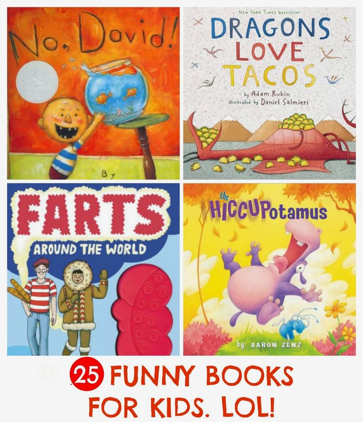 25 funny books for kids: parents share the books that truly get their kids giggling, laughing and cackling again and again. Great gift ideas here!