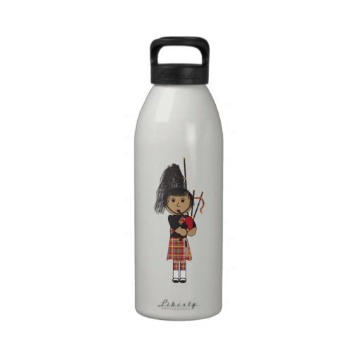 Bagpiper Water Bottles
