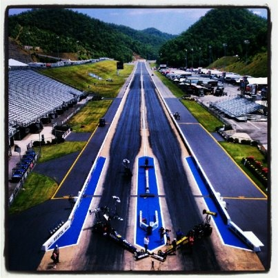 Awesome pic of @Bristol Motor Speedway & Dragway