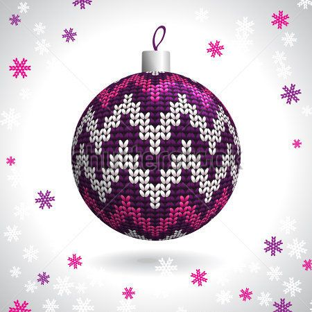 pletené vánoční koule - Hledat Googlem