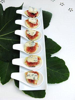 Tocco e tacchi - Blog di cucina e non solo: Cucchiaini di fichi , balsamico e gorgonzola