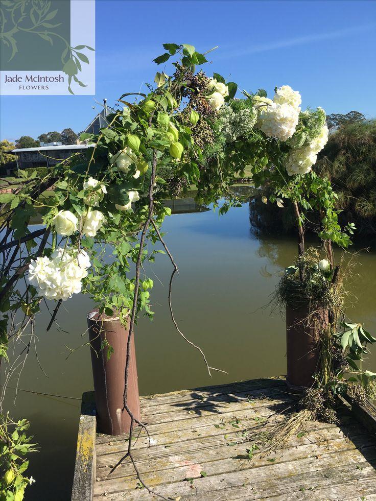 A gorgeous installation for a proposal! www.jademcintoshflowers.com.au