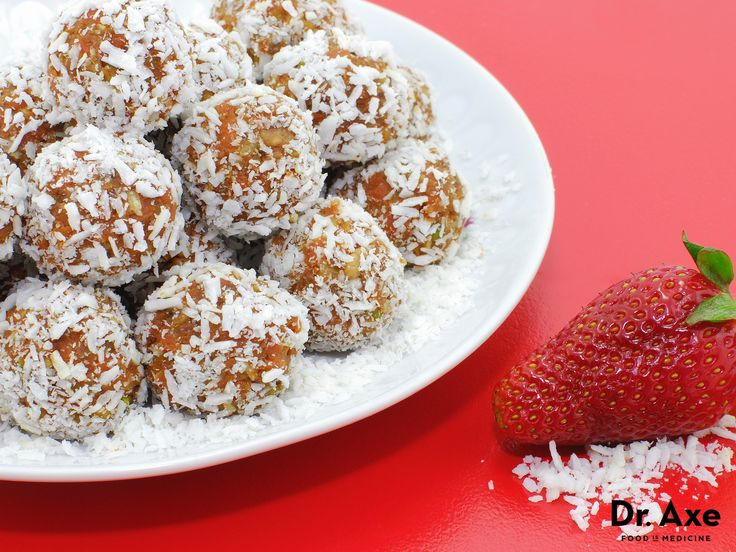 Dr Axe Snowballs: Blend 1 cup sprouted almond butter,  2 Tbsp. honey, 1/2 c. cacao powder,  2 tsp. Cinnamon 1 tsp. Nutmeg & 2 pinches Sea Salt. Form form balls. Roll in  1/2 cup coconut flakes. gm John 3:16