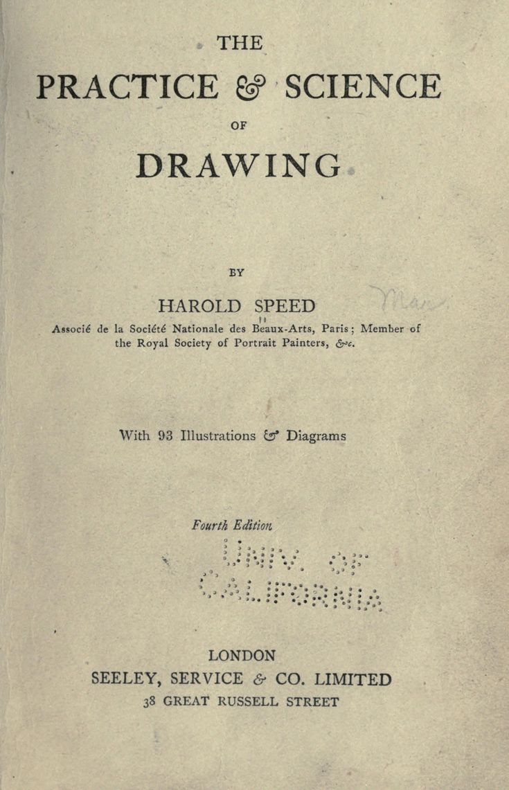 The practice science of drawing by harold speed great book that is free online