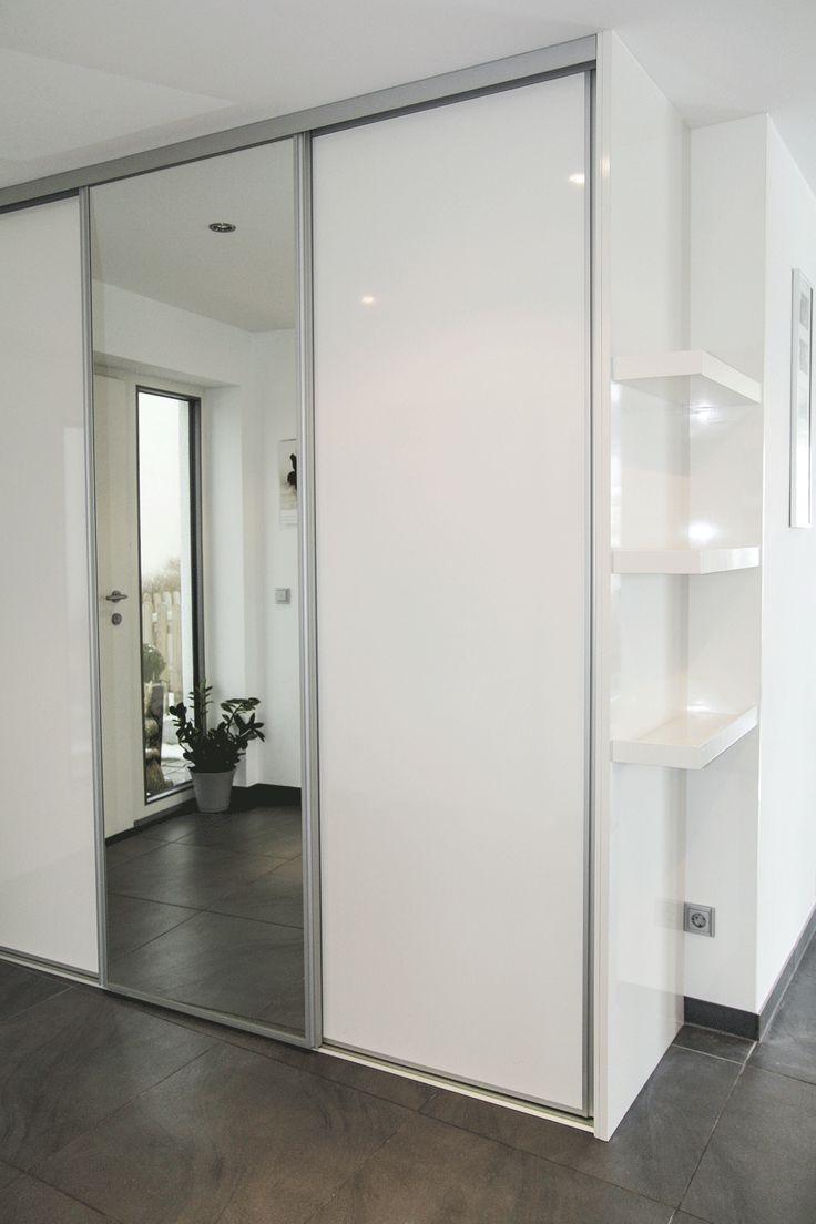 Schuhschrank Weis In Hochglanz Flur - Design