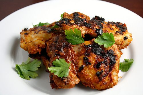 Tangy spicy boneless skinless chicken thighs
