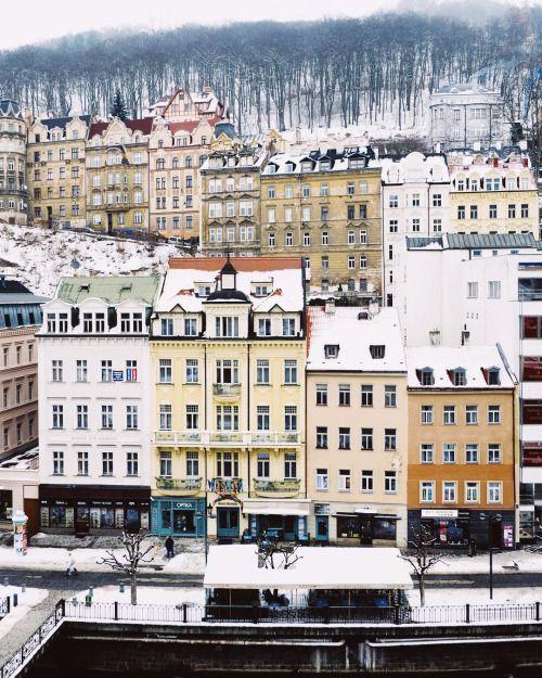 "everything-thing: "" Karlovy Vary / Czech Republic. By jn """