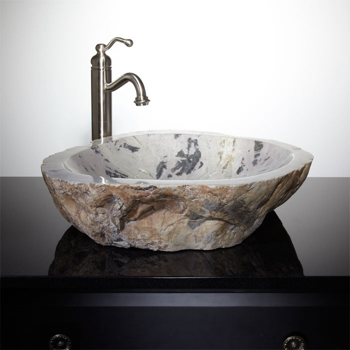 1000 Images About Powder Room Vessel Sinks On Pinterest Vanities Travertine And Natural Stones