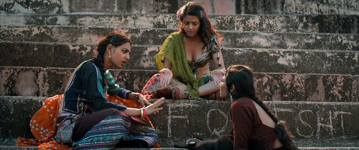 Parched | Radikha Apte, Surveen Chawla, Tannishtha Chatterjee | Women Rising: 5 More Powerful Portrayals of the Strength of Women | http://www.fallinginlovewithbollywood.com/2017/03/women-rising-5-more-powerful-portrayals-of-the-strength-of-women.html