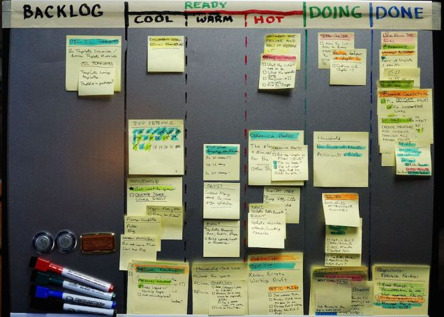 """Any system that uses a to-do list can benefit from the Personal Kanban approach. That means if you're currently using another system, you don't have to switch systems or give up your tools—you can just remix your method a little bit."" Extensive article."
